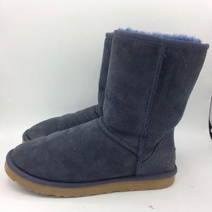 UGG Classic Short boot blue warm style sz 8